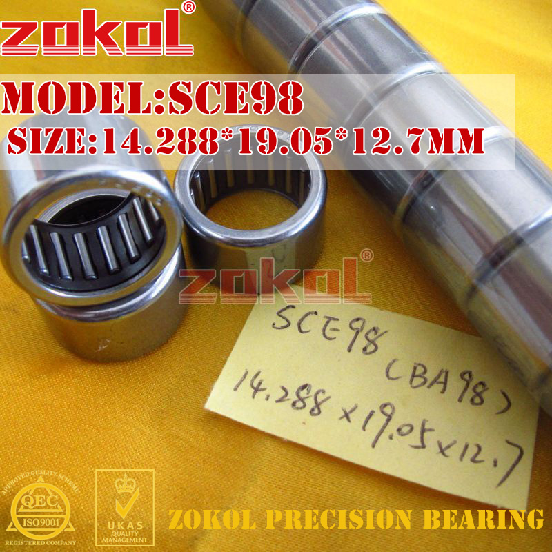 ZOKOL Bearing SCE610 SCE78 SCE88 SCE98 BA610 BA78 BA88 BA98 Type Punch Stamping Outer Ring Needle Roller Bearings