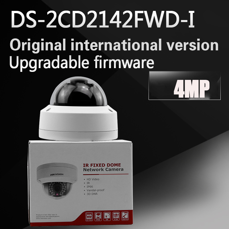Hikvision DS-2CD2142FWD-I MP POE H.264+ CCTV IP Camera Dome WDR Fixed IP67 IK10 Network Camera