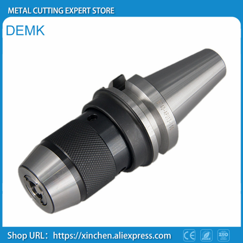 New Spindle BT40 APU16 110L High Precision Full Grinding ISO Standard Self-locking,Self-tightening Drill chuck CNC Machine Tool