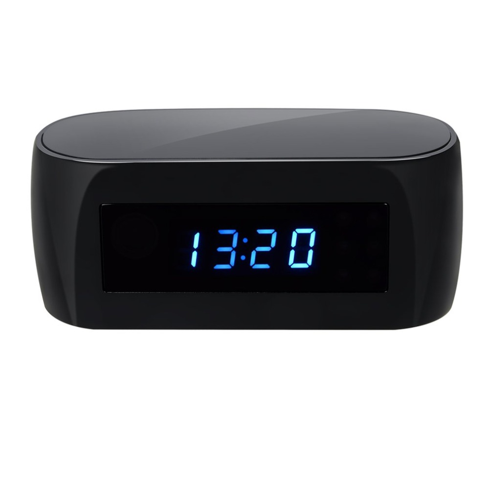 Z16 140 Degree Ultra Wide Angle Camera Clock Alarm 1080P Wireless Wifi Night Vision Room Home Security Cam Camcorder ...