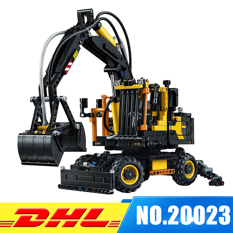 In-Stock 2017 New LEPIN 20023 1166Pcs Technology Series Excavator toy Building blocks toys for children gift 42053 new in stock vi 261 cu 07