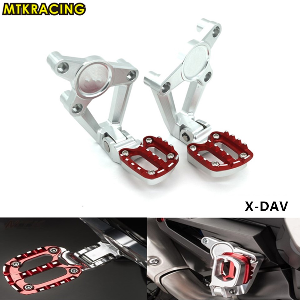 MTKRACING Motorcycle accessories Folding Rear Foot Pegs Footrest Passenger For HONDA X-ADV XADV X ADV 2017 modern led crystal brief dining room pendant light rectangle pendant light bar
