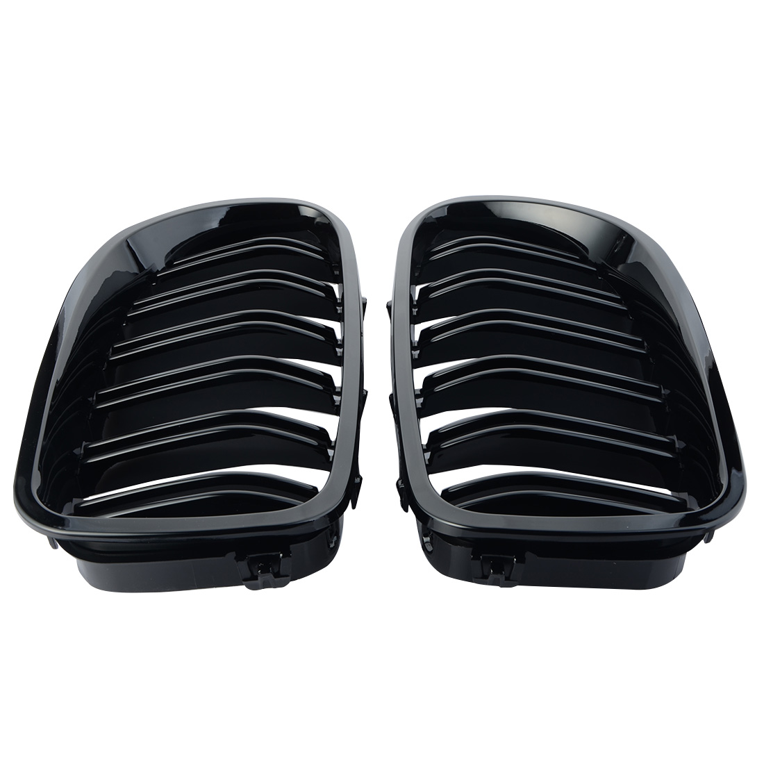1 pair Car Style One Pair Front Gloss Black Racing Grilles for BMW F18 F10 2010-2014 колонки acoustic energy compact one gloss black