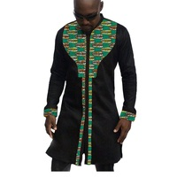 African Mens Tops Made To Measure Men African Clothes Fashion Shirt For Male Short Sleeve Africa