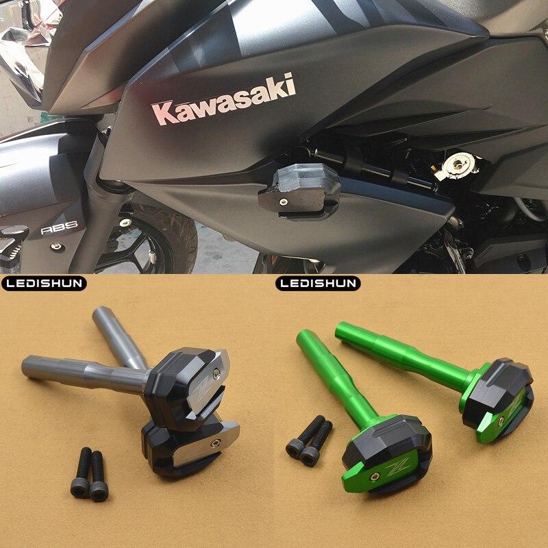 For KAWASAKI Z250 Z300 Z 250 Z 300 2013 2018 motorcycle slider frame sliders Engine Protective