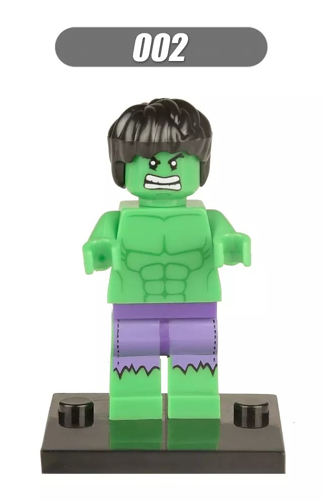 Super-Heroes-Marvel-Figures-Captain-American-The-Hulk-Spiderman-Iron-Man-LEGOINGLYS-Building-Blocks-Mini-Bricks-Children-Toys-2