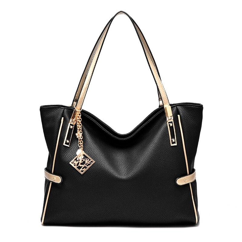 Livraison gratuite sac à bandoulière en cuir synthétique polyuréthane fashional sac à main polyvalent dame sac chaîne sac épaule et main 2 en 1 sac
