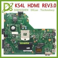 KEFU K54L For ASUS X54H K54L REV 3 0 Notebook K54L HDMI Laptop Motherboard PC Main
