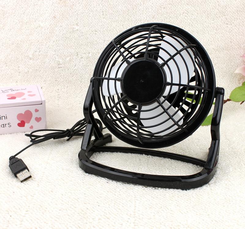 1pc Usb Cooling Fan Desk Mini Fan Notebook Laptop Handheldl Comfortable Feel Fans