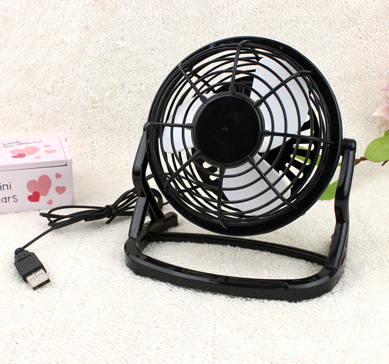 Fan USB Cooler Cooling Desk Mini Draagbare Desk Mini Fan Super Mute PC USB Coolerfor Notebook Laptop Met sleutelschakelaar