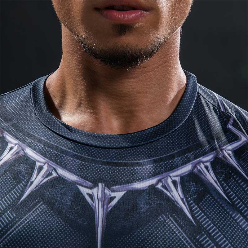 Black Panther T särk Captain America Civil War Tee 3D trükitud - Meeste riided - Foto 4