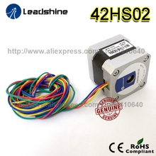 Free Shipping GENUINE Leadshine step motor 42HS02 High Performance 2 Phase NEMA 17 with 31.2 OZ-IN Torque (0.22 N.m)