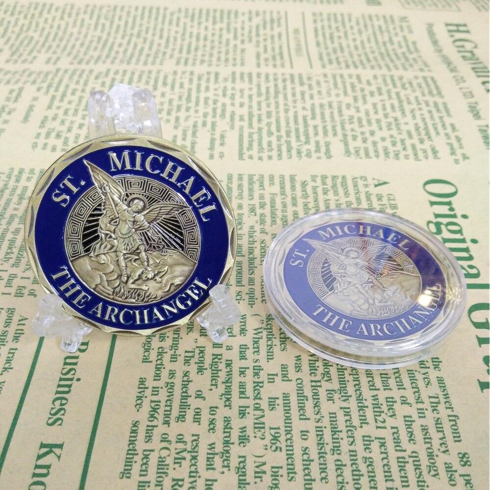 10pcs / lot US Falg St Michael Archangel məmuru və Hüquq - Ev dekoru - Fotoqrafiya 5