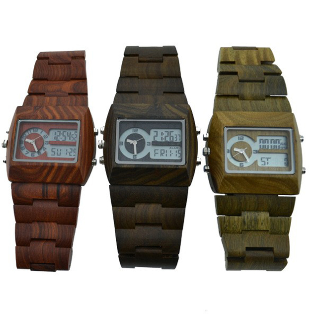 Luxury Mens Wood Watch