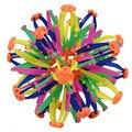 1 pcs miúdo engraçado adulto brinquedo expansão esfera bola telescópica mini rainbow flor colorida bola mágica dos miúdos crianças toys 2 tamanho