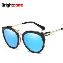 2017 New Fashion Women Polarized UV-400 Full Frame Sun-Shade Cat Eyes Driving Sunglasses Gafas Oculos De Sol Feminino Glasses