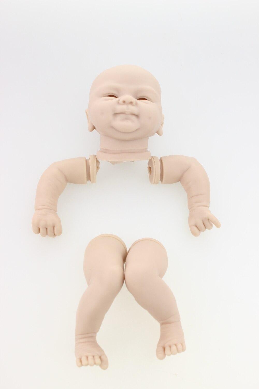NPK modello kit bambola rinato COCOMALU 18 pollici articolo reborn silicone morbido vinile raccolti fornitura hotsale rare limitata edtio