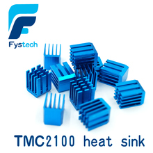 free shipping 10pcs/lot 3d printer accessories TMC2100 stepper motor drive special heat sink