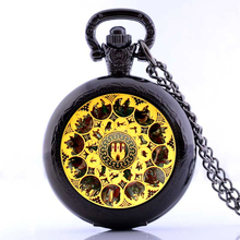 Astronomical Sundial Globe Pocket Watch Necklace Glass Dome Pendants Vintage Astronomy Science Jewelry