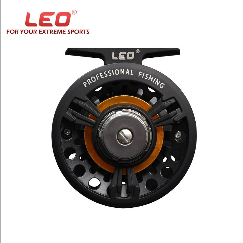 LEO FB75 Fly <font><b>Fishing</b></font> Reel Carp Left Right Hand Interchangeable Full Metal Body Fly Fish Reel Former Rafting Ice <font><b>Fishing</b></font> Wheels