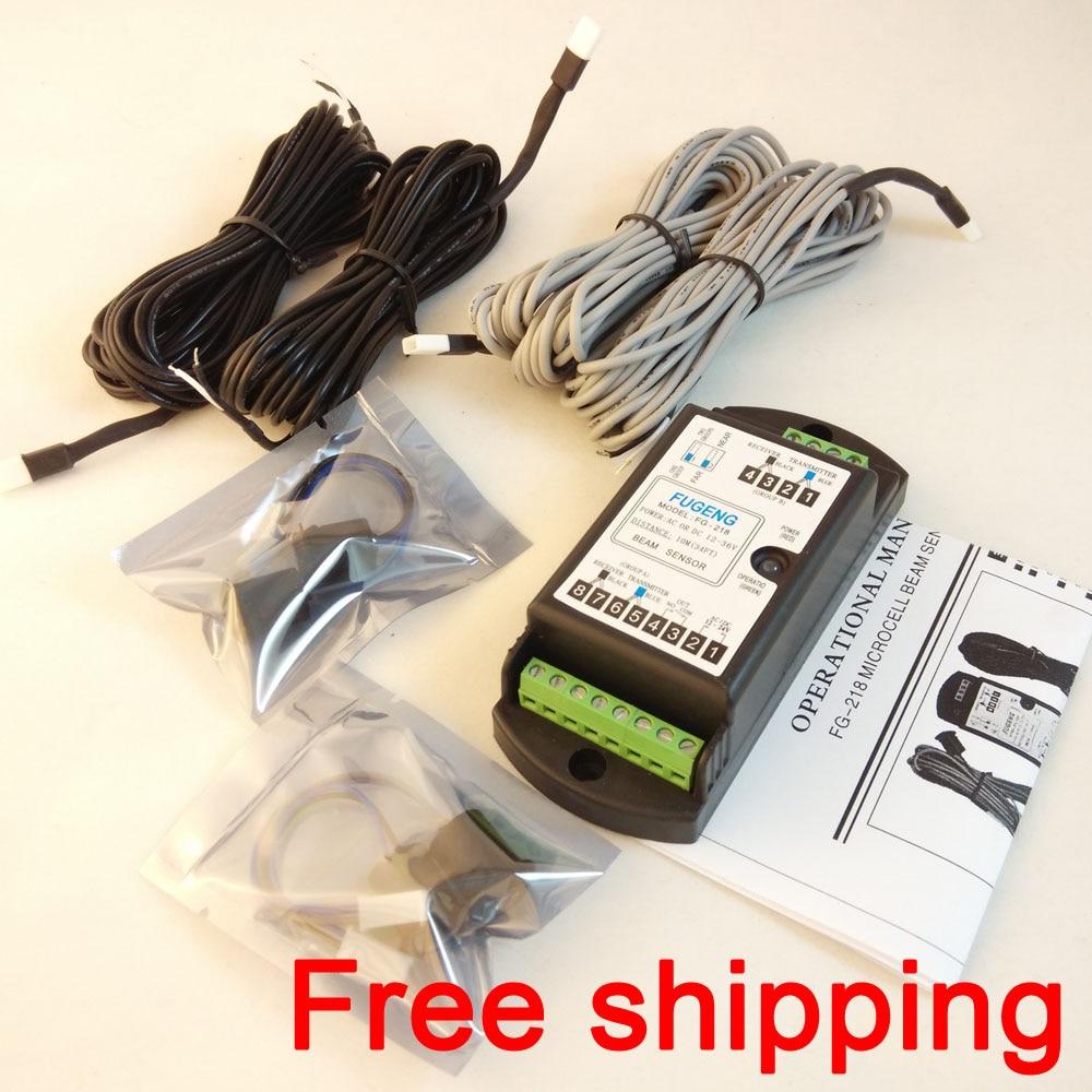 купить Free shipping with Post mail Automatic door safety beam sensor FG-218 (Double photocell Beam) по цене 1903.93 рублей