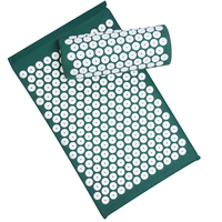 Acupressure Mat Pillow Set Relieve Stress Tension Pain Acupuncture Cushion Massage Mat Carry Bag Yoga Pain Relief Muscle