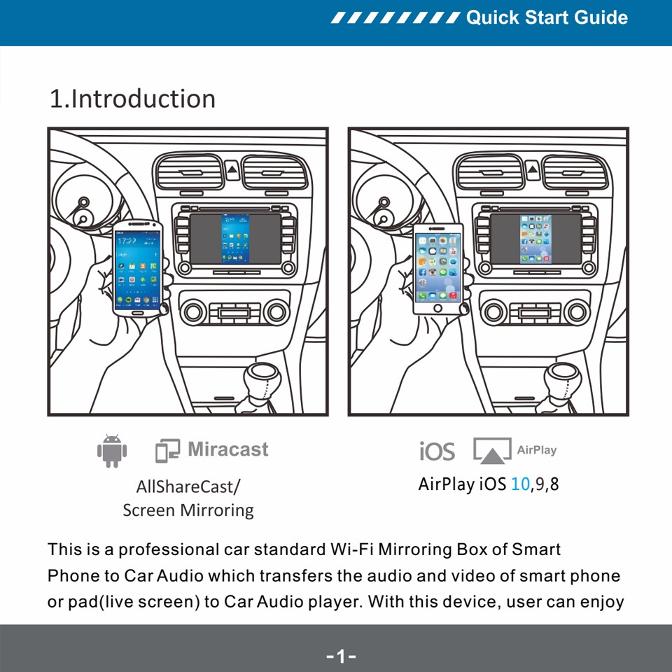Car wifi Mirrorlink box 2