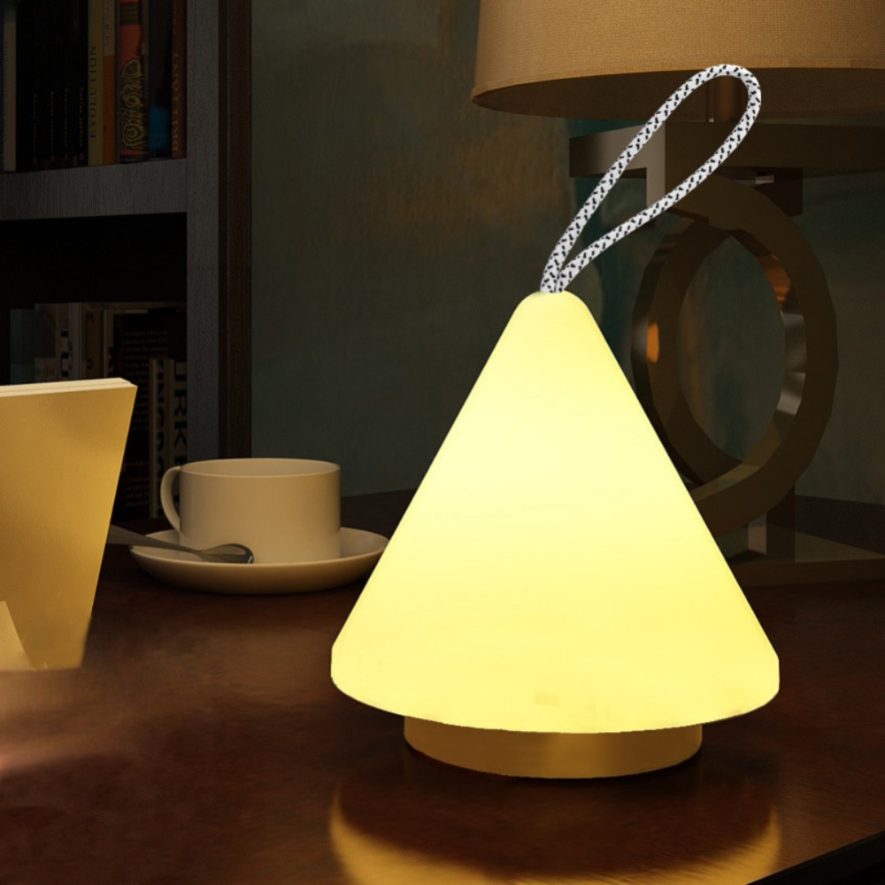 LED Night Light Novelty Rechargeable USB Lamp Nightlight For Nursery Bedside With Remoto ...