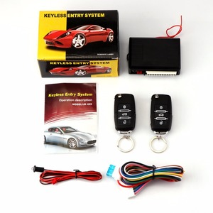 For Audi Car Alarm Auto Remote Door Lock Vehicle Keyless Entry System New With Remote Controllers centralisation Central Locking