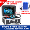 Eyoyo Original 30m Fish Finder Underwater Fishing Video Camera 7 Color Monitor 1000TVL HD CAM Infrared