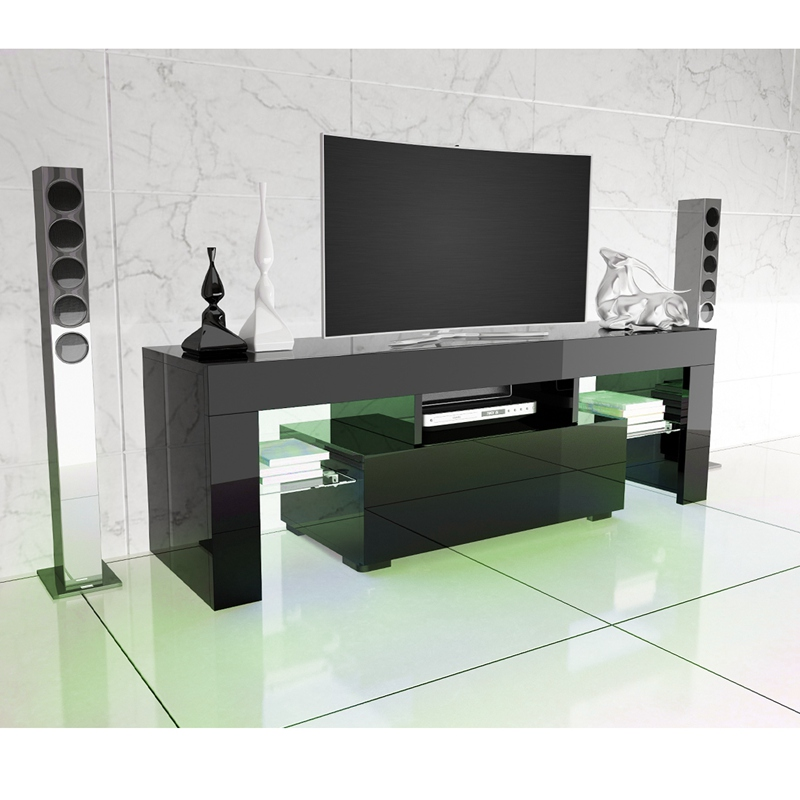 Aliexpress.com : Buy LED TV Stand High Gloss TV Cabinet Modern Living Room  Furniture Dropshipping From Reliable TV Stands Suppliers On My House Decor  Store