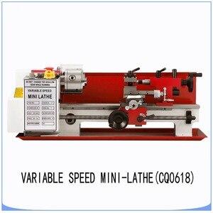 Image 3 - Mini high Precision DIY Shop Benchtop Metal Lathe Tool Machine Variable Speed Milling