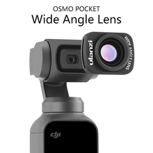 лучшая цена OP-5 Magnetic Large Wide-Angle Lens For DJI Osmo Pocket, Professional OP-6 Macro Lens Stabilizer For Osmo Pocket Accessories