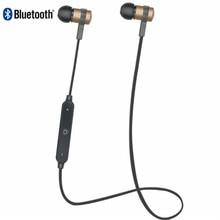 Bluetooth Headphone s6-1 4.2 Metal Wireless Stereo Headset Sport Earhook headphones with microphone USB Charge fone de ouvid