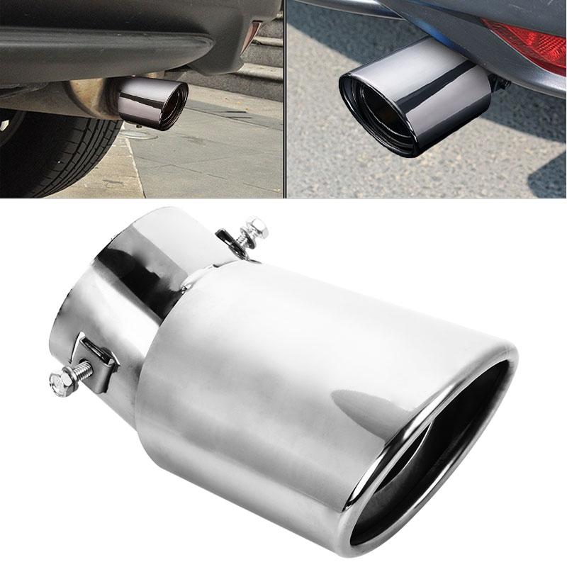 Автомобильная выхлопная труба 3 дюйма Универсальный автомобильный глушитель наконечник наружный автомобильный хвост горло воздушный вход