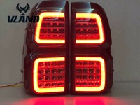 VLAND manufacturer for Car Tail light for Hilux LED Taillight 2016 2017 for Revo Tail lamp with DRL+Reverse+Brake
