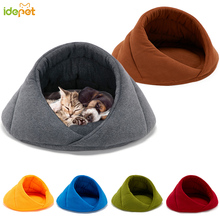 Warm Dog Bed Pet House Soft Suitable Fleece Cat for Cushion Sleeping Bag Nest High Quality 10c15