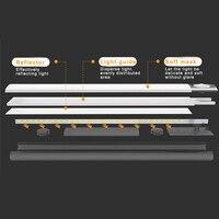 LED Motion Sensor Night Light USB Rechargeable for Wardrobe Cabinet Kitchen Corridor LO88