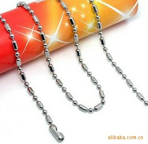 Titanium Boys Silver Necklace Chain Necklace Naked Men