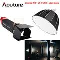 Aputure LS-mini 20d подсветка LS C120d + световая купольная клавишная подсветка COB Светодиодная студийная фотостудия световая съёмка с v-креплением