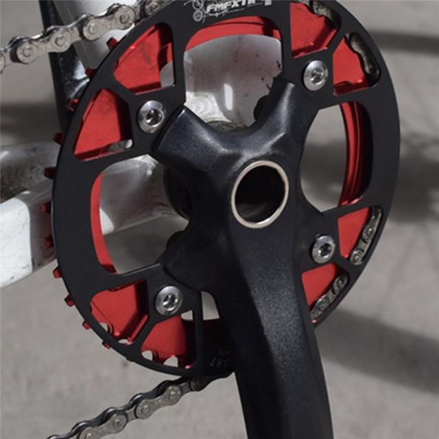 36-38 T велосипедная Звездочка колеса Горный велосипед Звездочка защита колеса велосипед Защита зубов пластина Cog MTB однодисковый Чехол #2N30