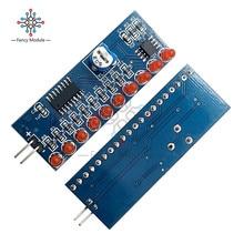 NE555+ CD4017 светильник вода течёт светильник светодиодный модуль DIY Kit ходовой светильник