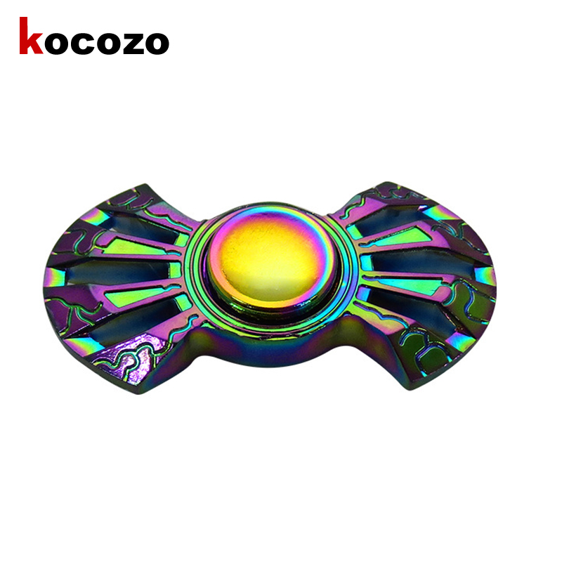 2017 Fidget Toys Pattern Hand Spinner Metal Hand Spinner and ADHD Adults Children Educational Toys Hobbies