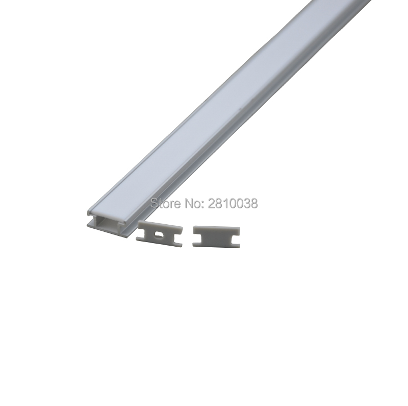 Schön 10 X0.5M Sets/Lot H style Extruded Led lichtband profil and AL6063  MO78