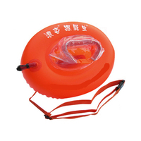 Dual Swimming Airbags Rings PVC Inflatable Stooge Bags Swimming Floating Drifting Buoy Easy Learning Study Swimming Airbag Rings