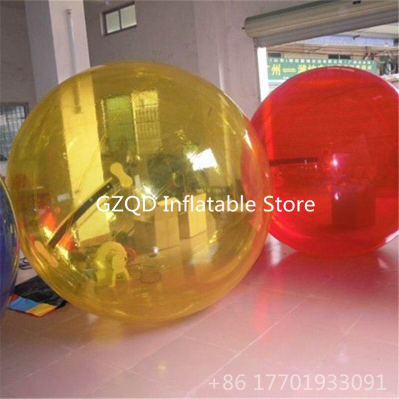 Sfera Dell'acqua Gonfiabile di Colore opzionale 1.0mm PVC Indlatable Bolla Acqua A Piedi Palla Giocattoli Per Bambini Palla Zorb - 2
