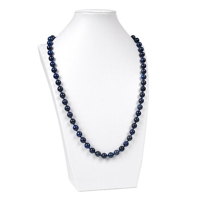 Collier Pierres Porte-Bonheur Lapis Lazuli Long
