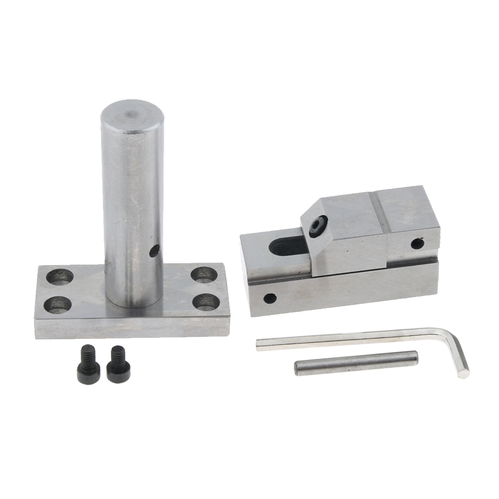 Manual Electrode EDM Vise Electric Discharge Machine Clamping Vices 1 Inch