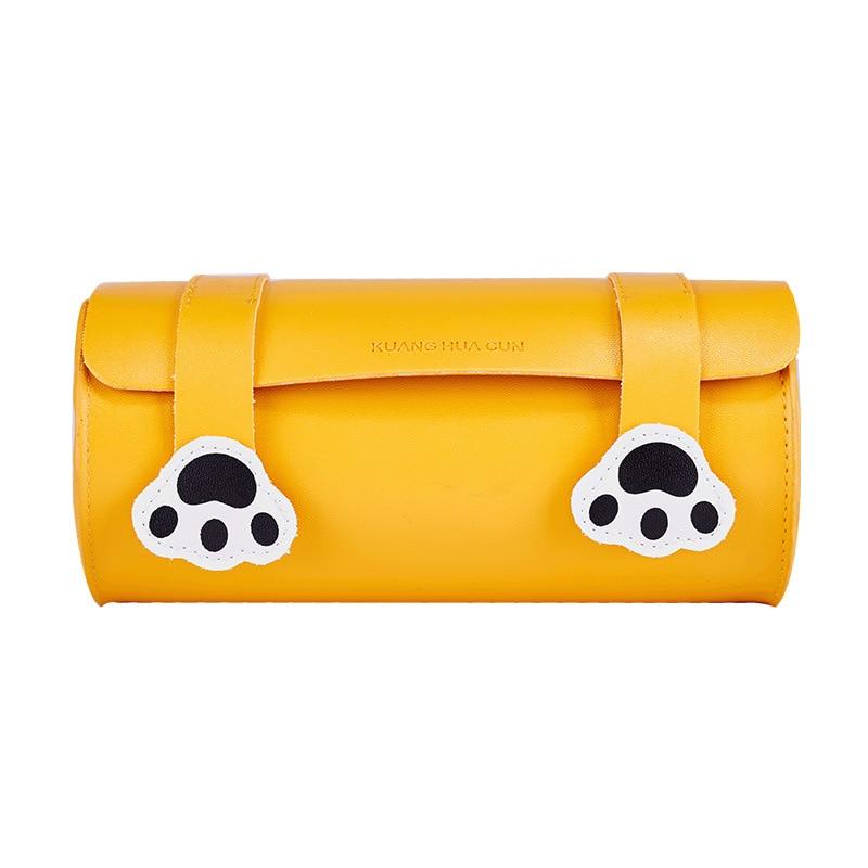 Kinder- & Babytaschen Gelb Koreanischen Stil Mädchen Pu Leder Eimer Taschen Mit Cartoon Druck Für Junge Dame Casual Crossbody Taschen & Umhängetaschen F382