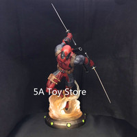 Diamond Select Toys Marvel Gallery Deadpool Statue PVC Figure Collectible Model Toy 35cm Retial Box